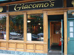Giacomo's Restaurant $$ - Boston Restaurants - 355 Hanover Street, Boston, MA, United States