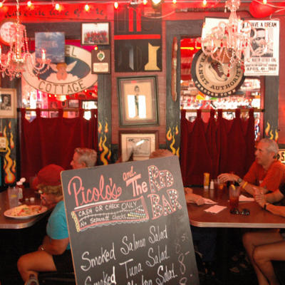 Red Bar - Restaurants, Attractions/Entertainment - 70 Hotz Ave, Santa Rosa Beach, FL, 32459