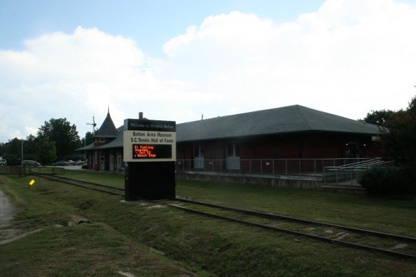 Historic Belton Train Depot - Reception Sites - 100 N Main St, Belton, SC, 29627