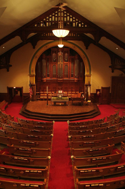 Central United Methodist Church - Ceremony Sites - 215 N Capitol Ave, Lansing, MI, 48933
