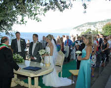 Fiona & David's Wedding in Vico Equense, Napoli, Italy