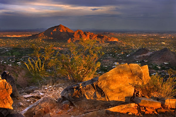 Camelback Mountain Hiking Trails - Attractions/Entertainment, Parks/Recreation - 6131 E Cholla Ln, Phoenix, AZ, 85253
