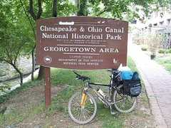 Biking on the Chesapeake and Ohio Canal Towpath - Attraction - 1057 Thomas Jefferson St NW, Washington, DC, 20007