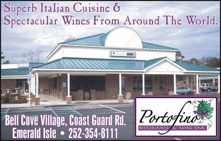 Portofino Ristorante & Wine Br - Restaurants - 9106 Coast Guard Road, Emerald Isle, NC, United States