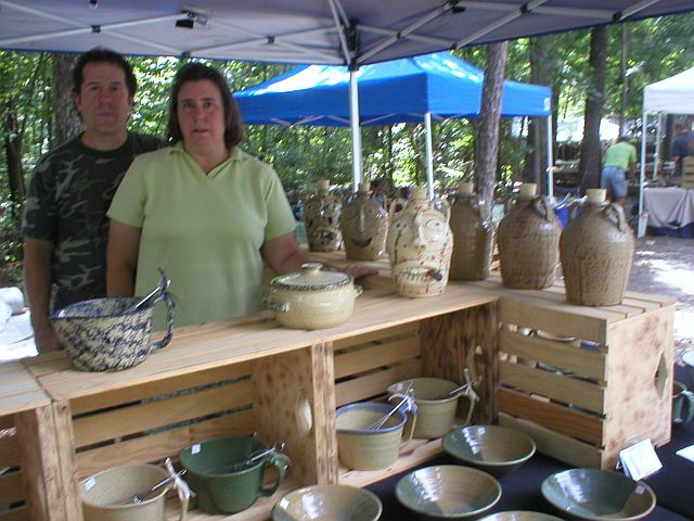 Dixieland Pottery - Shopping - 1162 Cagle Loop Rd, Seagrove, NC, 27341