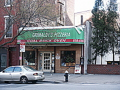 Grimaldi's Pizzeria - pizza - 19 Old Fulton St, Brooklyn, NY, 11201
