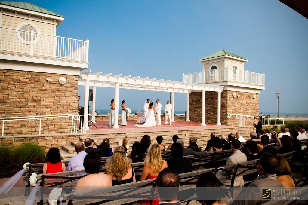 Amphitheater Ocean Front - Ceremony Sites - 28 McKinley Avenue, Long Branch, NJ, 07740