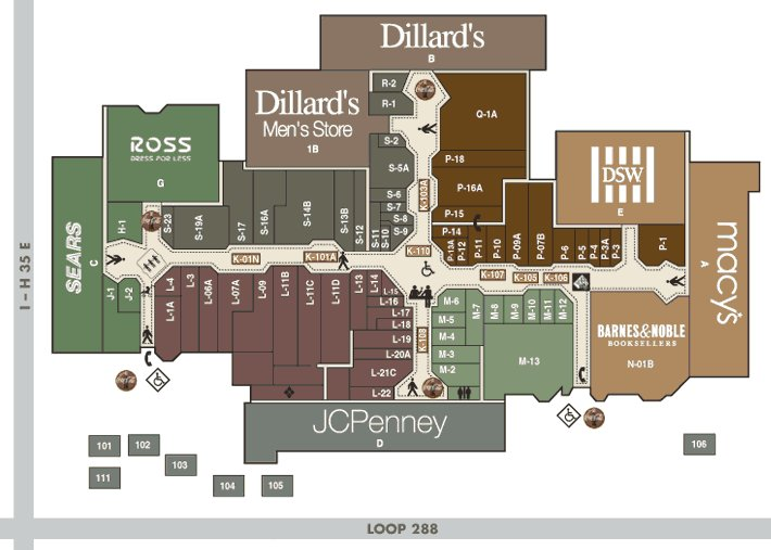 Golden Triangle Mall - Attractions/Entertainment - 2201 S I-35 E, Denton, TX, United States