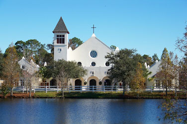 Corpus Christi Catholic Church - Ceremony Sites - 1050 Celebration Ave, Celebration, FL, 34747