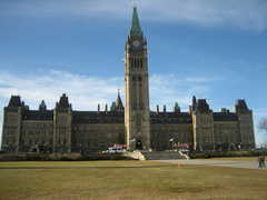 Parliament Hill, Parliament buildings - Attraction - Ottawa, Ontario, Canada