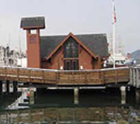 Fishermen's &amp; Seamen's Memorial Chapel - Ceremony - Pier 45, San Francisco, CA, 94133