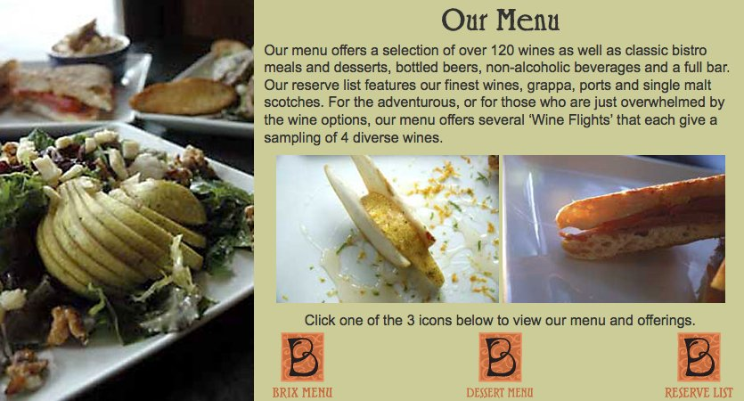 Brix (french Cuisine) - Restaurants - 40 West St, Pittsfield, MA, 01201
