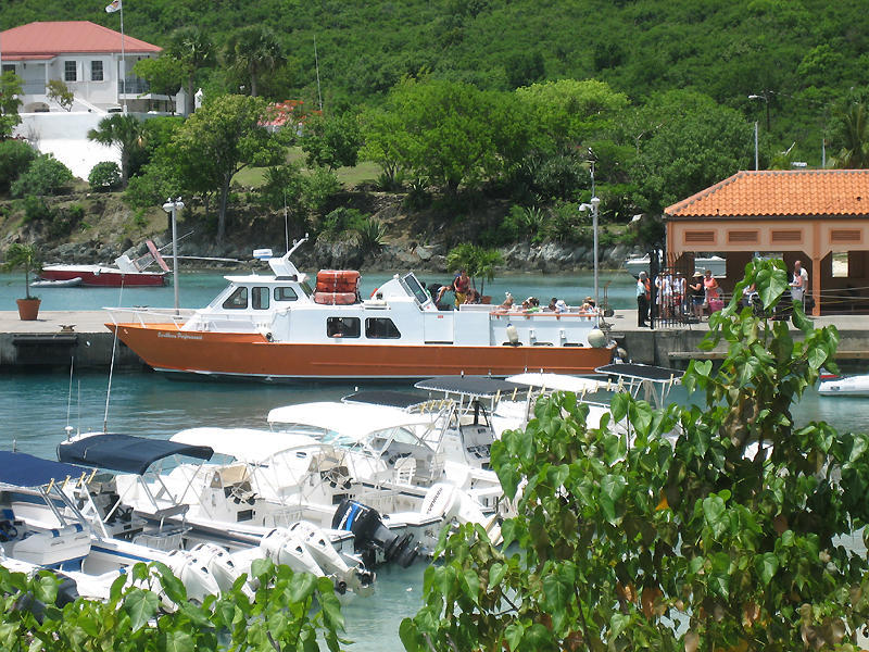 St. John Ferry Dock - Cruises/On The Water - Cruz Bay