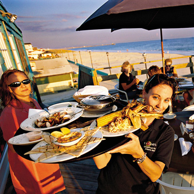 Crab's Claw Oceanfront Fine - Caterers, Restaurants, After Party Sites - 201 West Atlantic Boulevard, Atlantic Beach, NC, United States