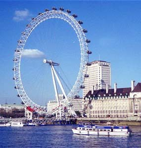 London Eye - Ceremony Sites, Attractions/Entertainment - London, ENGLAND, SE1 8, GB