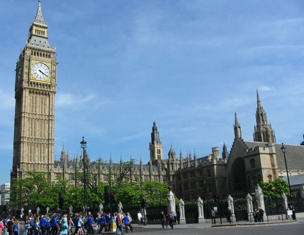 Big Ben & Houses Of Parliment - Attractions/Entertainment - Big Ben, Westminster, London, London, England, GB