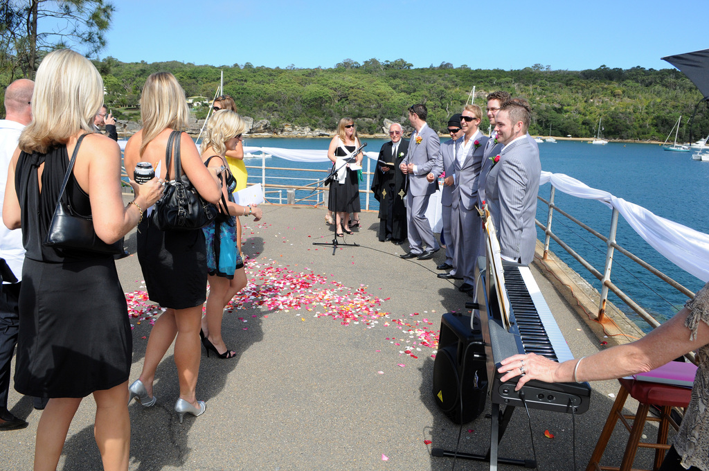 Wedding Ceremony - Ceremony Sites - Stuart St, Manly, NSW, 2095
