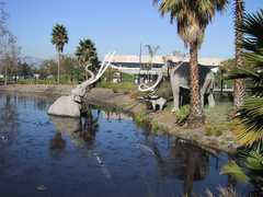 La Brea Tar pits - Attraction - 5801 Wilshire Blvd, Los Angeles, CA, 90036