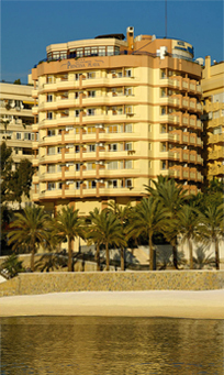 Aparthotel Princesa Playa - Hotels/Accommodations - Avenida Duque De Ahumada S/N, Marbella, Malaga, Spain