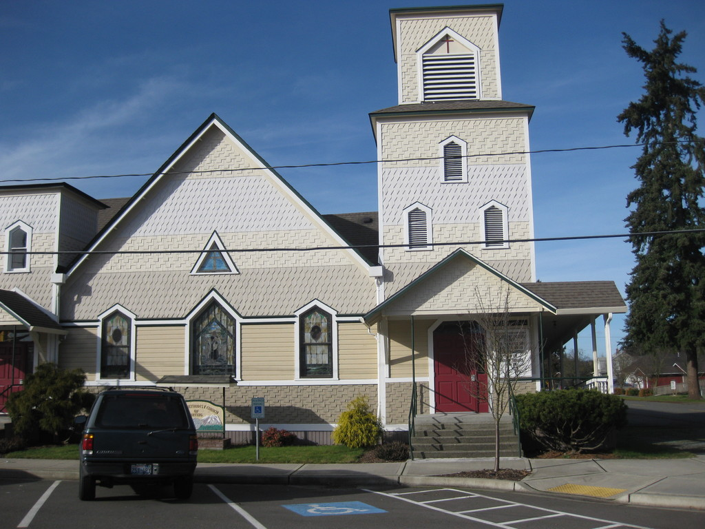 Orting United Methodist Church - Ceremony Sites - 109 Train St SE, Orting, WA, 98360