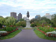 Boston Public Garden and Boston Common - Boston Common & Boston Public Gardens - Charles St, Boston, MA, US