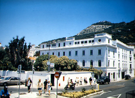 Bristol Hotel - Hotels/Accommodations - 8/10 Cathedral Square, Gibraltar