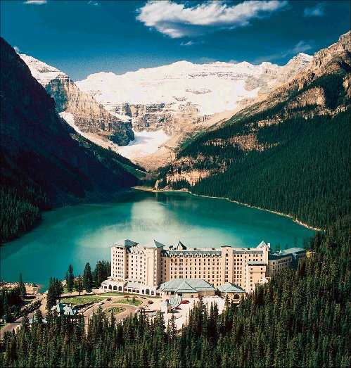 Fairmon Chateau Lake Louise - Ceremony Sites, Attractions/Entertainment, Ceremony & Reception, Hotels/Accommodations - 111 Lake Louise Drive, Lake Louise, AB, Canada