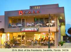 Cork - Restaurant - 29 South Boulevard of the Presidents, Sarasota, FL, United States