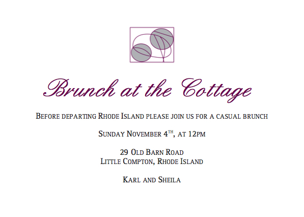 Brunch At The Cottage - Brunch/Lunch - 29 Old Barn Rd, Newport, RI, 02837, US