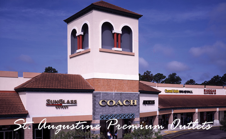 St. Augustine Premium Outlets - Attractions/Entertainment, Shopping - 2700 State Road 16, St Augustine, FL, 32092