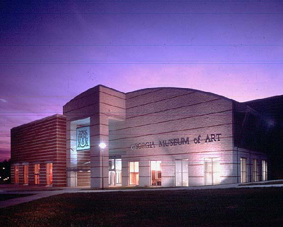 Georgia Museum Of Art - Attractions/Entertainment - 90 Carlton St, Athens, GA, 30602, US