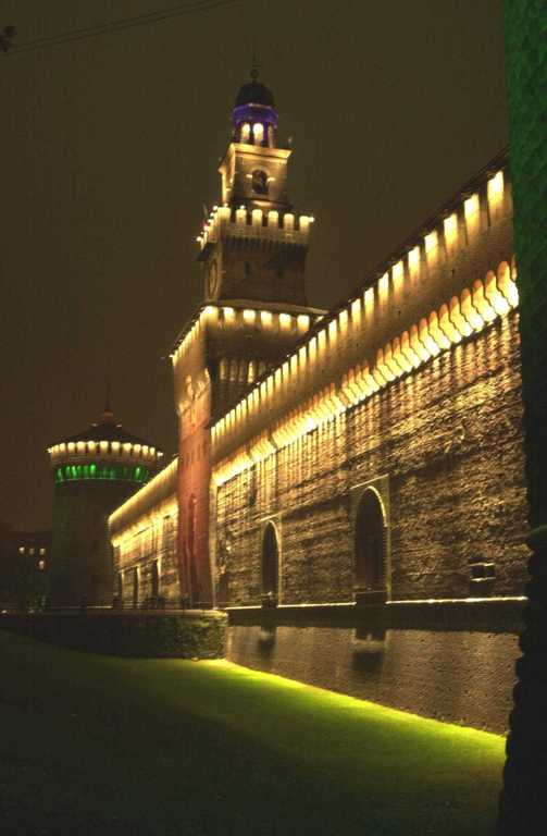 Sforza Castle - Attractions/Entertainment - Piazza Castello, Milano, Lombardia, 20121, IT