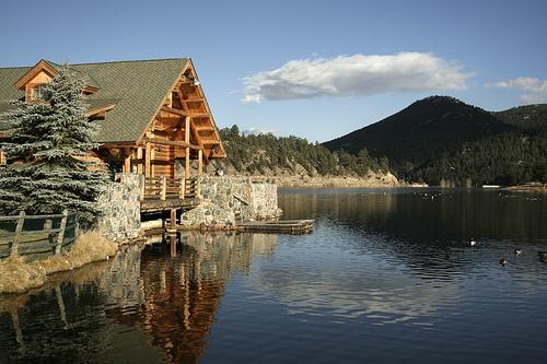 Evergreen colorado wedding venues vendors wedding for Colorado mountain houses