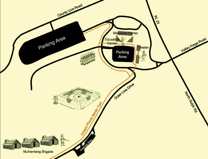 Valley Forge National Historical Park - Attractions/Entertainment, Parks/Recreation - 1400 N Outer Line Dr, King of Prussia, PA, 19406, US