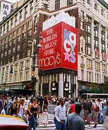 Macys Herald Square - Shopping, Attractions/Entertainment, Restaurants - 121 W 34th St, New York, NY, United States