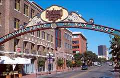Gaslamp Quarter - Entertainment - Downtown, San Diego, CA, United States