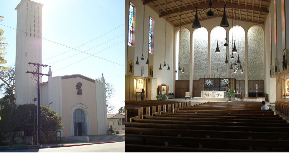 St. Paul The Apostle Church - Ceremony Sites - 10750 Ohio Ave, Los Angeles, CA, 90024, US