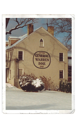 General Warren Inne - Hotels/Accommodations, Restaurants, Rehearsal Lunch/Dinner - 16 Village Way, Malvern, PA, United States