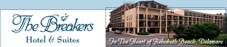 Breakers Hotel & Suites - Hotels/Accommodations - 105 2nd St, Rehoboth Beach, DE, United States