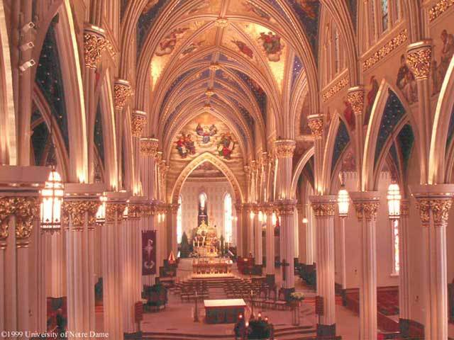 Basilica Of The Sacred Heart - Ceremony Sites - Eck Visitor Center, South Bend, IN, United States