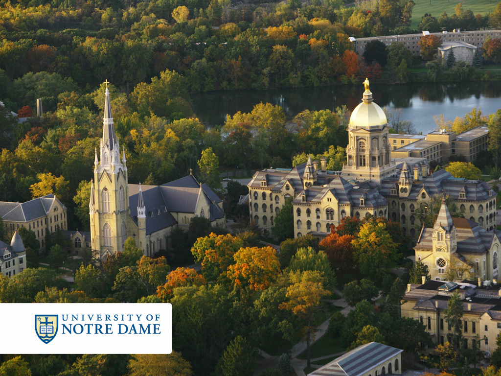 University Of Notre Dame - Ceremony Sites, Attractions/Entertainment, Reception Sites - Notre Dame, IN, United States