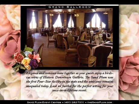 Sand Plum Event Center - Reception Sites, Ceremony Sites - 202 W Harrison Ave, Guthrie, OK, 73044