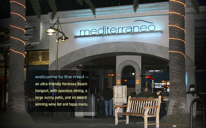 Mediterraneo - Restaurants, Bars/Nightife - 73 Pier Ave, Los Angeles County, CA, 90254, US