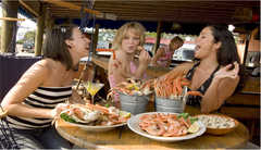 Folly Beach Crab Shack - Restaurant - 26 Center Street, Folly Beach, SC, United States