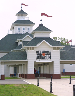 Oklahoma Aquarium - Attractions/Entertainment - 300 Aquarium Drive, Jenks, OK, United States