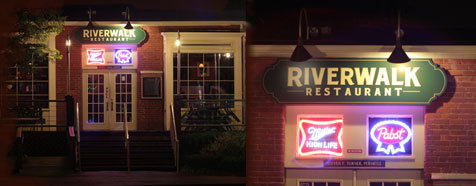 Riverwalk Restaurant - Bars/Nightife, Restaurants, Rehearsal Lunch/Dinner - 14 Holmes St, Mystic, CT, 06355
