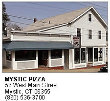 Mystic Pizza - Restaurants, Attractions/Entertainment, Rehearsal Lunch/Dinner - 56 W Main St, Mystic, CT, United States