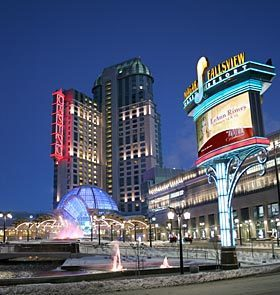Niagara Fallsview Casino/resort - Attractions/Entertainment, Shopping - 6380 Fallsview Blvd., Niagara Falls, ON, Canada