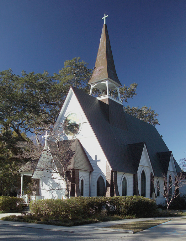 St. John's Episcopal Church - Ceremony Sites - 705 Rayburn Ave, Ocean Springs, MS, 39564, US