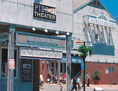 Pier 21 Theatre - Entertainment - Pier 21 at Harborside Dr., Galveston, TX, 77550
